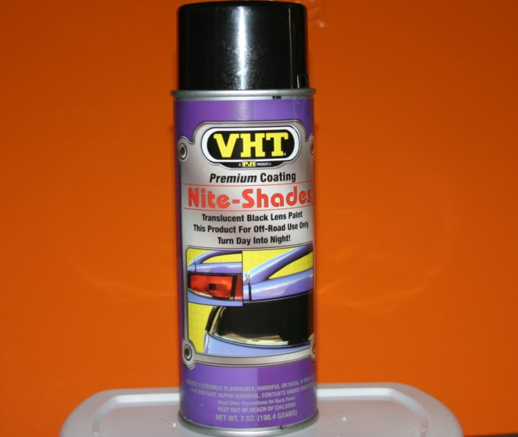VHT Nite Shade Tail Light Tint DIY plastic tining.