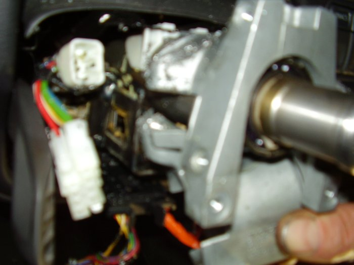 Ignition cylinder replacement