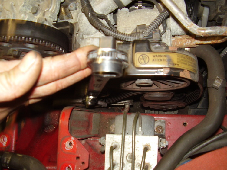 How to remove timing belt
