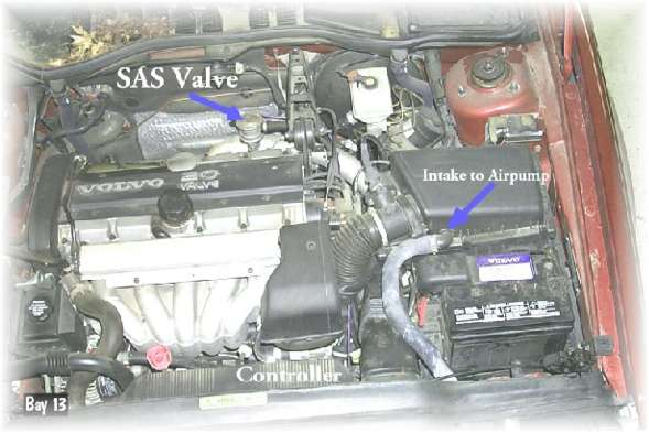 Startapr on 1998 Volvo S70 Radiator