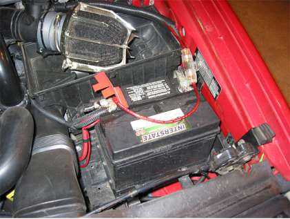 installing a sub in your volvo find a place to mount the fuse box for now mine is just kind of setting between the battery and the outside of the car