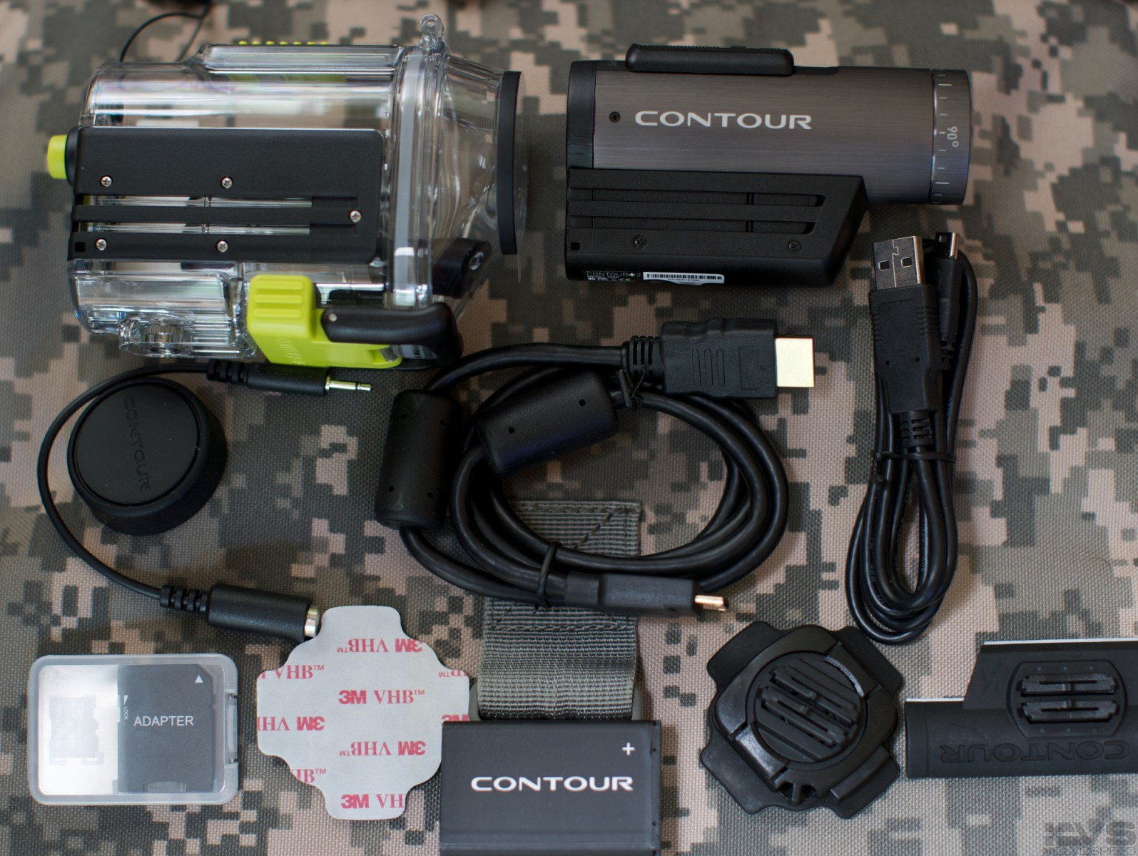 Contour GPS Camera With Waterproof case