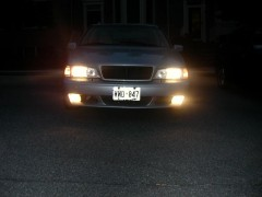 Nighty with the new bumper
