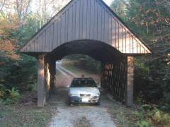 XC on covered bridge.JPG