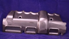 Graphite Carbon Fiber Engine Cover