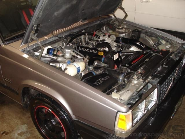 Small upgrades to the engine compartment