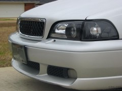 Front grille and ABM projectors