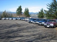Oregon Volvo Tuners at the Columbia Gorge