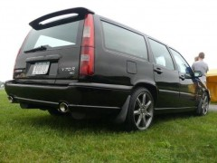 back view of the v70r