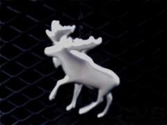 3D Moose Badge