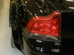S60 Tinted Tail Lights