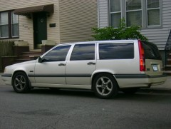 my old volvo 850 turbo