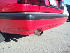 "2 3/4"" Polished Stainless Steel Exhaust system"