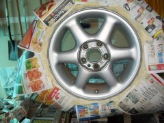 Before pic of rims grey