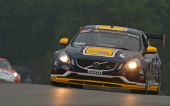 S60R Race Car in Rain