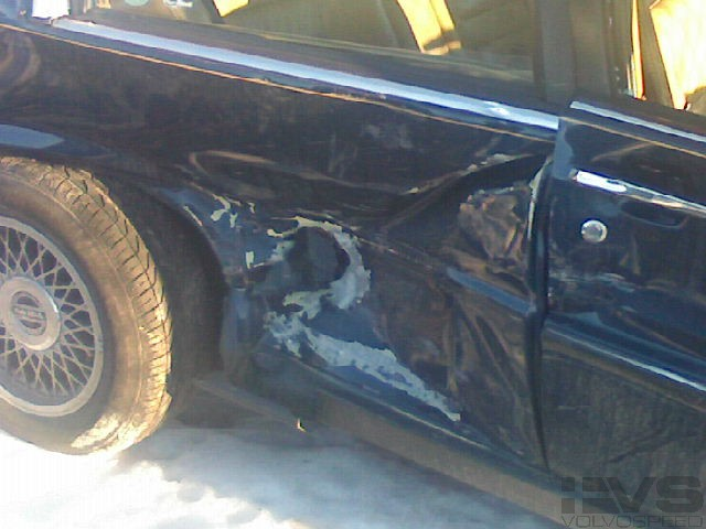 volvo 780 wreck