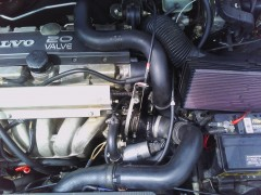 Throttle body area and intercooler piping
