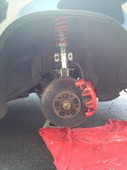 16 Red calipers Add about 100hp