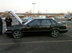 0 The Subject  1995 Volvo 850 T5R  5 Cylinder Turbo Charged 250HP stock  1 Of 185 imported into The US