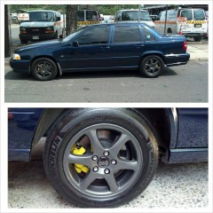 Anthracite Gray Plasti Dip wheels