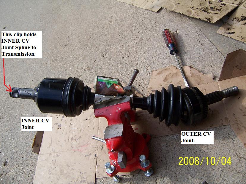 Fwd Cv Joint Boot Replacement Tips amp Tricks 1998 V70