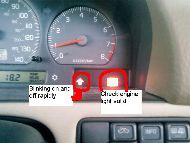 Help! Blinking Gear Shift Arrow Light ! ! - FWD/AWD 1999 - 2010 - Volvospeed Forums