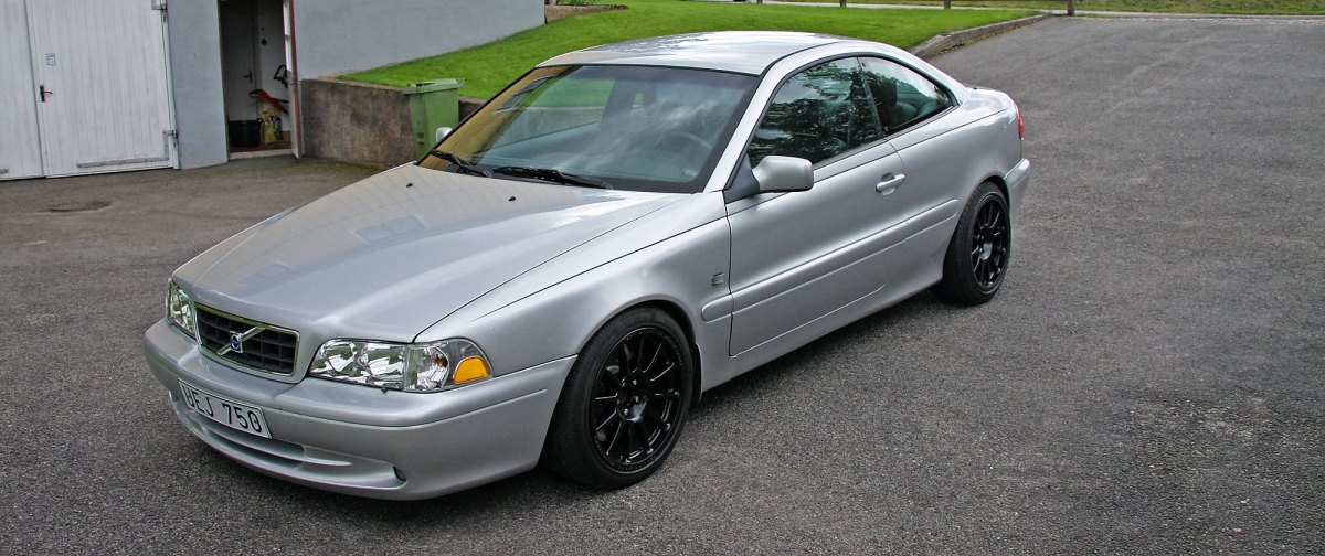 Volvo C70 AWD - fully street legal (in Sweden at least
