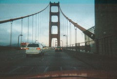 crossing the golden gate!